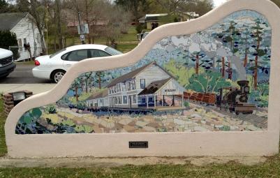 Blaylock Park - Old Depot Mural