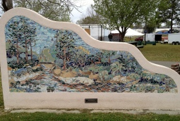 Blaylock Park - Red Creek Mural