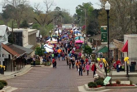Pine Hill Festival Crowd