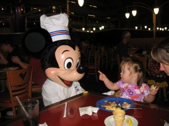 JoJo and Mickey Mouse - 2009