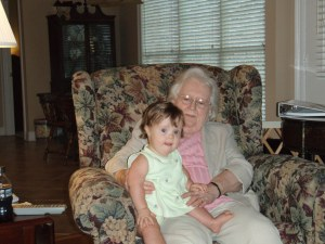 Mrs. Litchfield and JoJo - 2010