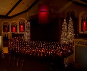 Carols by Candlelight 2012 - photo by Judy Rushing