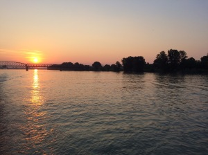 Sunrise on the Danube