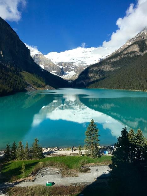 Lake Louise and Victoria Glacier